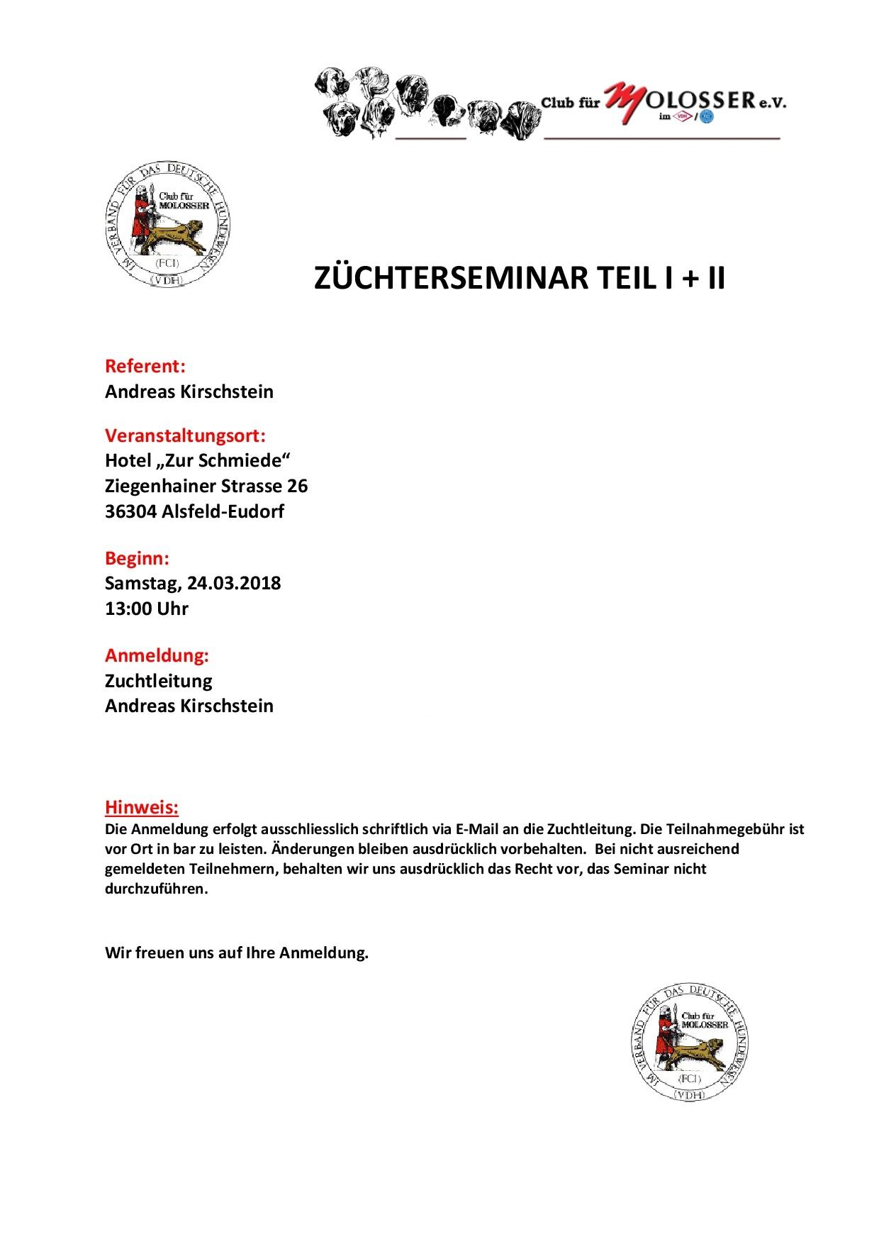 Z-SEMINAR 2018
